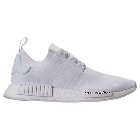 Adidas NMD R1 PK Primeknit Tri Color White Oreo Mens Sizes