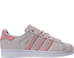 Girls' Grade School adidas Superstar Casual Shoes