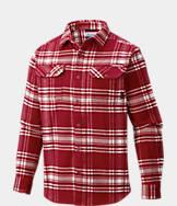 Men's Columbia Arkansas Razorbacks College Flare Gun Flannel Shirt