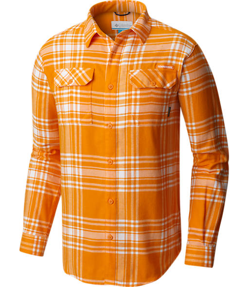 Men's Columbia Tennessee Volunteers College Flare Gun Flannel Shirt