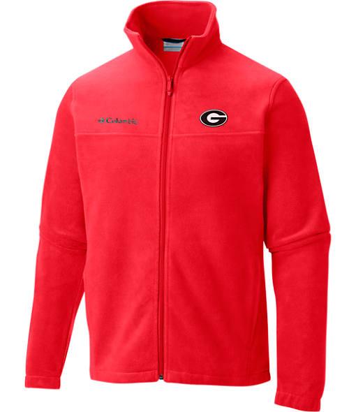 Men's Columbia Georgia Bulldogs College Flanker II Full-Zip Jacket
