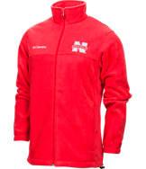 Men's Columbia Nebraska Cornhuskers College Flanker II Full-Zip Jacket