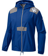 Men's Columbia Kentucky Wildcats College Flashback Windbreaker Jacket