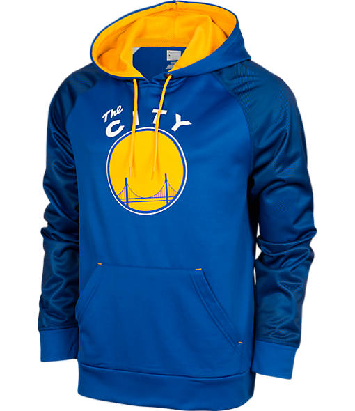 Men's Majestic Golden State Warriors NBA Armor II Hoodie