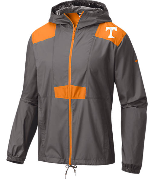 Men's Columbia Tennessee Volunteers College Flashback Windbreaker Jacket