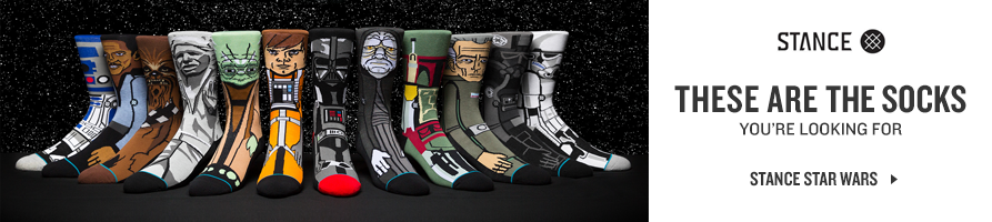 Shop Stance Star Wars Socks.