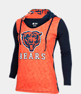 Women's College Concepts Chicago Bears NFL Long-Sleeve Vortex T-Shirt