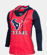 Women's College Concepts Houston Texans NFL Poly Hooded Shirt
