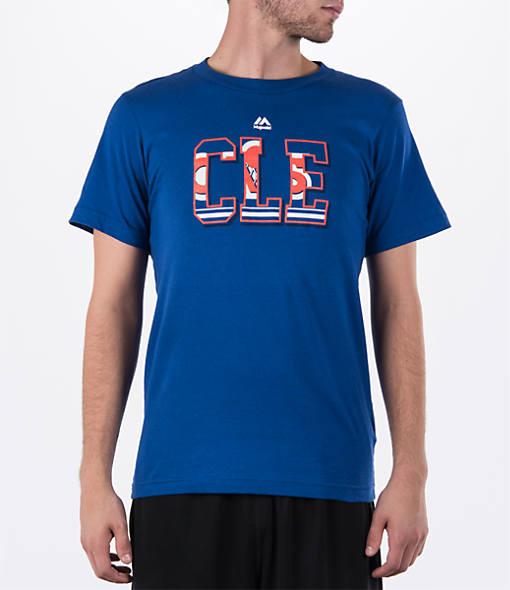 Men's Majestic Cleveland Cavaliers NBA Scoreboard T-Shirt