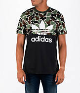 Men's adidas Originals Camouflage Colorblock T-Shirt