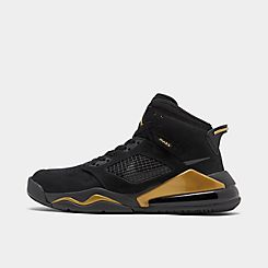 나이키 Nike Mens Jordan Mars 270 Basketball Shoes,Black/Anthracite/Metallic Gold/Black