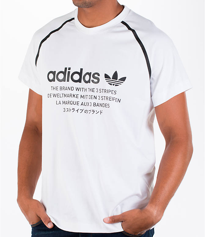 Detail 2 view of Men's adidas NMD T-Shirt in White