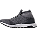 Left view of Men's adidas UltraBOOST 3.0 ATR Running Shoes in Triple Grey