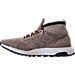 Left view of Men's adidas UltraBOOST ATR Mid LTD Running Shoes in Trace Khaki/Clear Brown/White