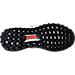 Bottom view of Kids' Grade School adidas UltraBOOST ATR J Running Shoes in Dark Burgundy/Energy