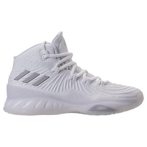 Boys' Grade School adidas Crazy Explosive 2017 Primeknit Basketball Shoes