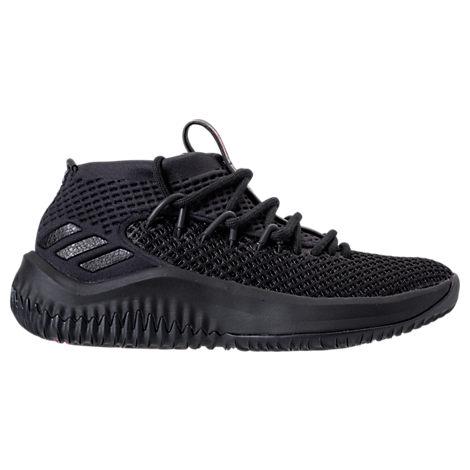 Adidas Originals Boys' Grade School Dame 4 zapatillas de baloncesto Negro