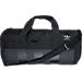 Front view of adidas Originals Court Duffel Bag in Black