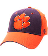 Zephyr Clemson Tigers College Challenger Stretch Fit Hat