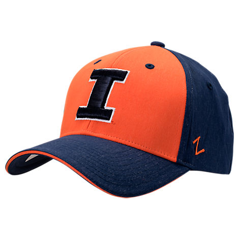 Zephyr Illinois Fighting Illini College Challenger Stretch Fit Hat