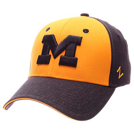 Zephyr Michigan Wolverines College Challenger Stretch Fit Hat