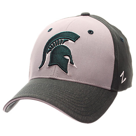 Zephyr Michigan State Spartans College Challenger Stretch Fit Hat