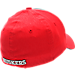 Back view of Zephyr Nebraska Cornhuskers College Challenger Stretch Fit Hat in Team Colors/Heather