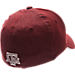 Back view of Zephyr Texas A&M Aggies College Challenger Stretch Fit Hat in Team Colors/Heather