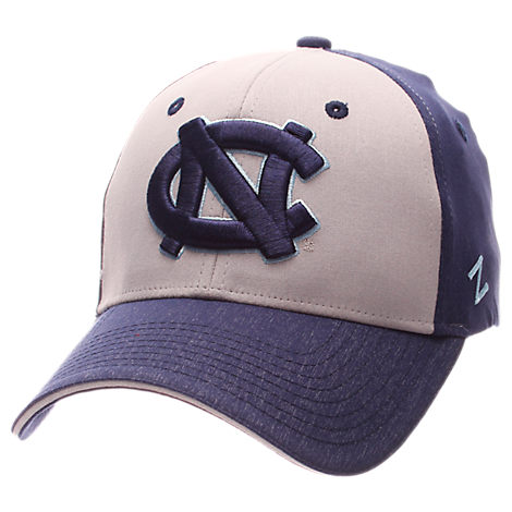 Zephyr North Carolina Tar Heels College Challenger Stretch Fit Hat
