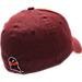Back view of Zephyr Virginia Tech Hokies College Challenger Stretch Fit Hat in Team Colors/Heather