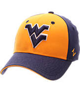 Zephyr West Virginia Mountaineers College Challenger Stretch Fit Hat