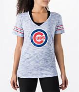 Women's New Era Chicago Cubs MLB Space Dye T-Shirt