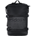 Front view of adidas Originals NMD Runner Backpack in Black