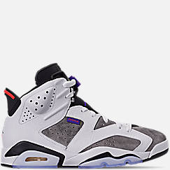 나이키 Nike Mens Jordan Retro 6 LTR Basketball Shoes,Light Armory Blue/Dark Concord/Obsidian