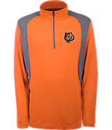 Men's Antigua Cincinnati Bengals NFL Delta Quarter Zip Shirt