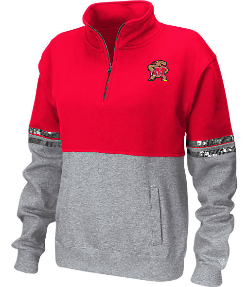 Women's Stadium Maryland Terrapins College Rudy Quarter-Zip Pullover