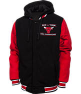 Men's JH Design Chicago Bulls NBA Reversible Champ Jacket