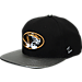 Front view of Zephyr Missouri Tigers College Composite Snapback Hat in Team Colors