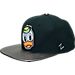 Front view of Zephyr Oregon Ducks College Composite Snapback Hat in Team Colors