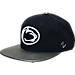 Front view of Zephyr Penn State Nittany Lions College Composite Snapback Hat in Team Colors