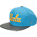 Front view of Zephyr UCLA Bruins College Composite Snapback Hat in Team Colors