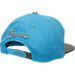 Back view of Zephyr UCLA Bruins College Composite Snapback Hat in Team Colors