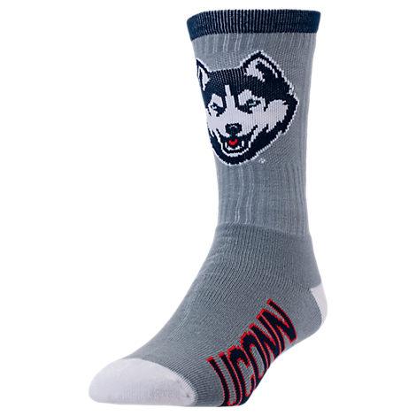 For Bare Feet UConn Huskies College Jump Key Socks