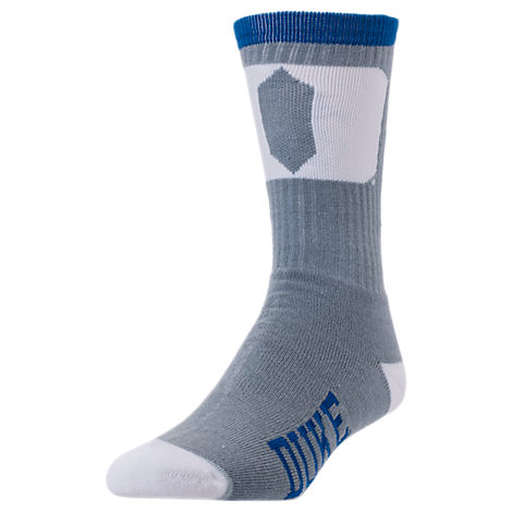 For Bare Feet Duke Blue Devils College Jump Key Socks