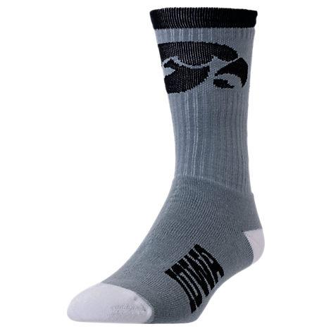 For Bare Feet Iowa Hawkeyes College Jump Key Socks