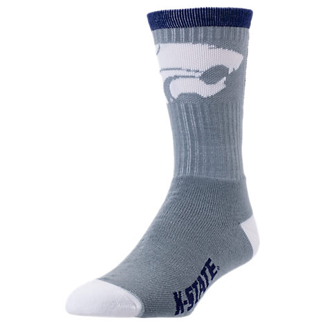 For Bare Feet Kansas Jayhawks College Jump Key Socks