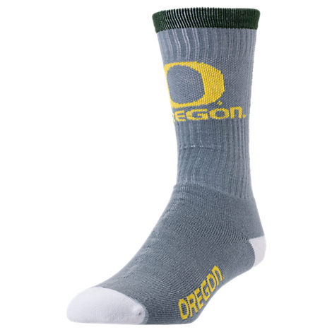 For Bare Feet Oregon Ducks College Jump Key Socks