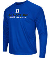 Men's Stadium Duke Blue Devils College Tread Long-Sleeve T-Shirt
