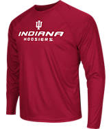 Men's Stadium Indiana Hoosiers College Tread Long-Sleeve T-Shirt
