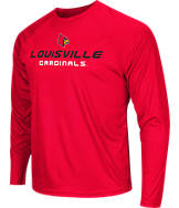Men's Stadium Louisville Cardinals College Tread Long-Sleeve T-Shirt
